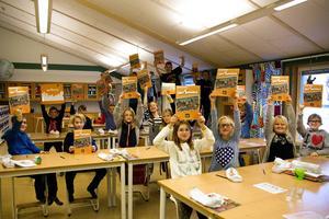 Årskurs 4 på Björkbacka skola skickade förslag på vad de ville ha i sin kommun.
