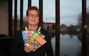 Pers Göran Olsson är färdig med sin fjärde film om Faluns historia. Den här gången är det 1970-talet som skildras. foto: erik jerdén