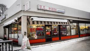Billigaste pizzan. USpizza har Fagerstas billigaste kebabpizza, 65 kronor.