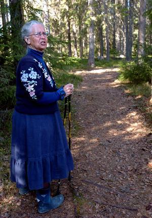 Det var här, omgivna av spjut i en spetsgård, som kvinnorna tvingades vandra upp på berget mot sin egen död.