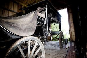 1. Likvagnen i Wij har inte använts sedan 1947, men är än i dag i mycket bra skick.