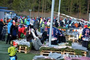 Mycket folk kom till den första vinterfestivalen i Fränsta.