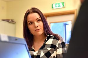 Johanna Eriksson, från Älvdalen, läste en vecka på samhällsprogrammet innan hon bytte till industri.