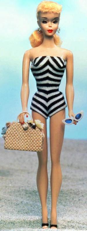 Barbiedockan fyller 50 på måndag. Hon är blott ett år yngre än EU.Foto: SCanpix