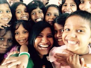 På barnhemmet får flickorna stöd och utbildning.