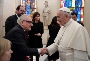 Nyligen bjöds Martin Scorsese in till Vatikanen av påve Franciskus, som tackade honom för