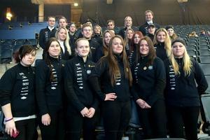 Hela klassen i Stockholm inför Sweden International Horse Show.