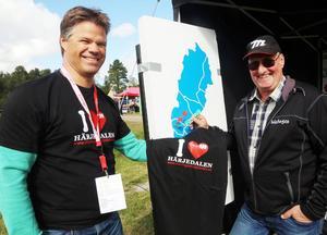 Håkan Alkell, TH, och Mats Grafström, Vemdalen.