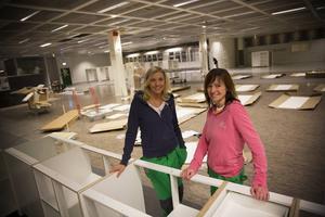 Ulrica Lindholm och Marielle Brovinger inför att butiken skulle öppnas 2016. Ulrica Lindholm lämnade företaget ifjol. Fotograf: Anna-Karin Pernevill