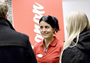 Rebecka Nordeman från Inlandsbanan ser Östersundsdagen dels som ett tillfälle för marknadsföring och dels som en möjlighet att hitta en ny marknadschef.