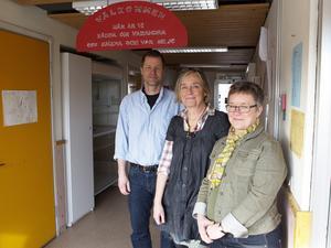 Anders Erlandsson, Sara Edström och Anette Walter.