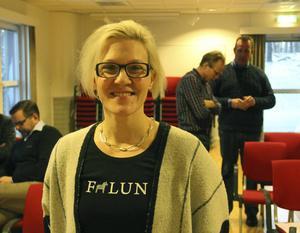 Linda Norén, näringslivschef på Falu kommun. – Det känns verkligen bra att nu kunna erbjuda fastighetsmark till företag och investerare i det här området