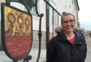 Från och med den 1 april är Anna Strindberg formellt Faluns nya ordförande i kommunfullmäktige.