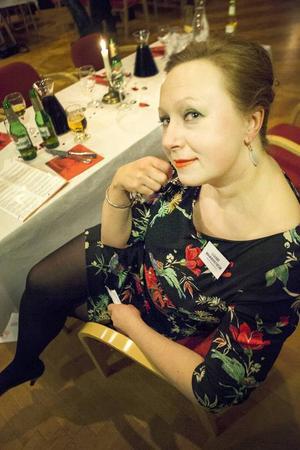 Louise Mannerström Louise Mannerström har både sin dotter Ebba och sin ex-man Gustav på plats under kvällen. Hon försöker inte dölja att hon avskyr Gustavs nya fru.Till vardags är hon Kerstin Häggmark. – Det är en helkväll verkligen. Bra spelledare, god mat och så roligt att få träffa folk så här. Det är verkligen jätteroligt.