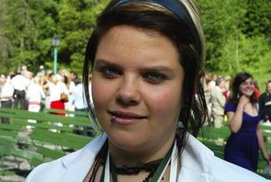 Duktig. Linn Norman fick stipendium för särskilt goda studieresultat.