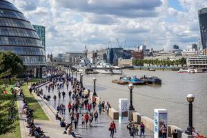 London är en favorit bland svenskar.