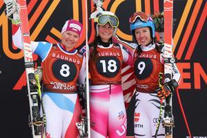 Katja Grossmann, Alice Merryweather och Katja Grossmann.