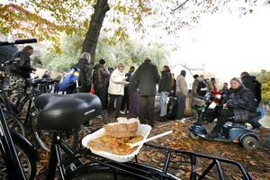 Självklart  varje dag för de flesta, men inte för dem som kommer till Gatans vänners soppkök på Södermalm i Stockholm varannan lördag.
