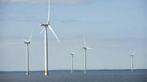 Till havs. Svea Vind Offshore AB vill etablera sig söder om Landsort i Nynäshamns kommun.