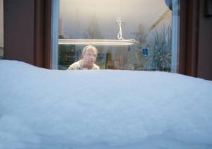 """Hoppas att det fortsätter vara kallt. """"Jag hoppas att det kan fortsätta vara kallt men att snöandet upphör. Fast så får vi det nog inte"""", säger Ulf Eriksson."""
