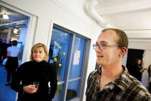 Jonas Hagström har fått hjälp att komma igång med sitt företag genom Suzanne Kalleberg och andra personer på Business Incubator. Där hjälper flera partners till med att utveckla affärsidéer på campus.