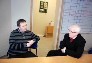 Sedan löntagarkonsultens rapport presenterats för platschef Per Mårtensson och förhandlingschef Thomas Lindahl, konstaterar de båda att den måste utvärderas innan man kan kommentera innehållet.   Foto: Håkan Luthman