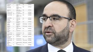 Mehmet Kaplan (MP) deltog i riksdagsdebatten om ett erkännande av folkmordet Seyfo, men såg till att kvitta ut sig  före omröstningen.
