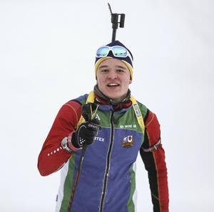 Markus Stenberg, Sveg, är en av fyra herrar i det svenska JVM-laget.