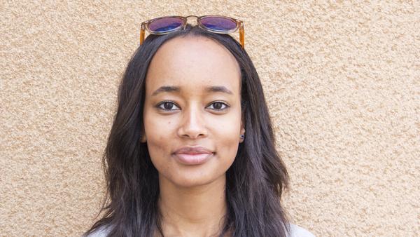 Merie Woldeghebriel, 19 år, studerande, Norberg. – Donken! Det är bra att kunna köpa något som går snabbt och enkelt och är gott när man kommer hem från jobbet.