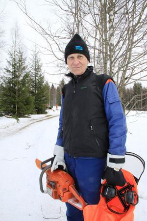 Karl-Olov Nygård var nöjd med dagen.