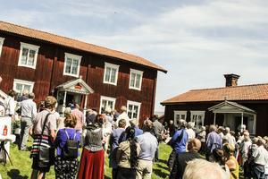 Nationaldagsfirande på Hälsingegård Löka i Alfta