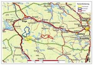 Två av de tre vindkraftsprojekten kommer att påverka boende i Ljusdals kommun.