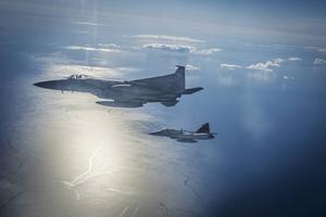 Nato övar incidentberedskap över Östersjön.