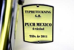 Identitetsmärkning. G.H. står för Günther Heydorn.