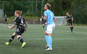 Jesper Persson Hägg gjorde tre mål när Bollnäs Kurd besegrade Landafors med 6–1
