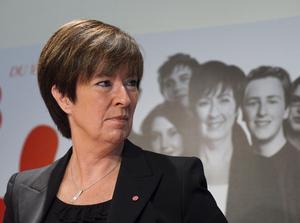 Socialdemokraternas ordförande Mona Sahlin.