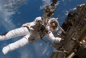 Christer Fuglesang blev 2006 förste svensk i rymden.