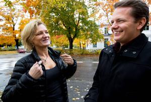 Göran Hådén (MP) kryssas upp.