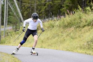 Ebba Anderssons stora mål kommande vinter är att försvara JVM-guldet.