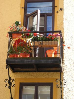 Alternativ 5: Balkong på väster i Örebro.