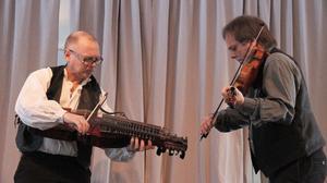 Bröderna Pär och Torbjörn Näsbom från Tierp var speciellt inbjudna till jubileet.