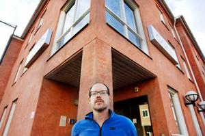 En av de 56 medarbetare som nu har varslats är Anders Eriksson. I tio år har han arbetat på företaget. Nu är oron inför framtiden stor.Foto: Ulrika Andersson