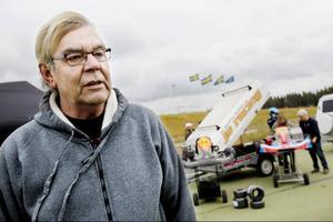 Klubbordförande Agne Ottosson berättar att det är lite besvärligt med återväxten inom motorsporten. Men han tycker sig se en vändning och ett ökat intresse.