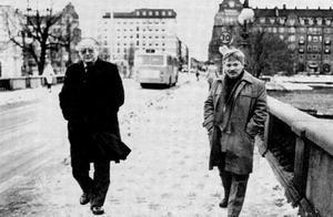 Två örebroare som bott på Väster, Torsten Ehrenmark och Alf Rune.