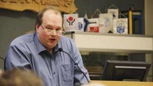 Stefan Vestling, före detta Sverigedemokrat, numera politisk vilde i Norberg.