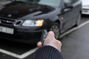 De allra flesta bilstölderna sker med bilens egen nyckel.