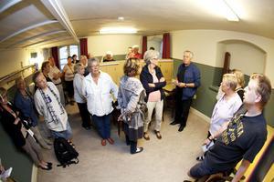 Det som i dag är loge var rummet i ettan, som var Sven-Erik Ekdahls hem med föräldrar och fyra syskon.