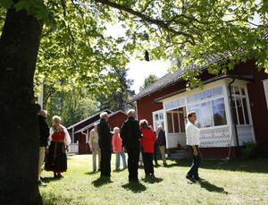 Långmors skola fick återse många av sina gamla elever, under skolträffen på lördagen.