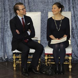 Prins Daniel och Kronprinsessan Victoria.