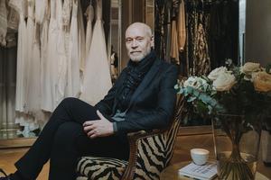 """För designern Lars Wallin har modebranschen alltid varit det enda karriärvalet. """"Jag har aldrig haft någon reservplan"""", säger han."""
